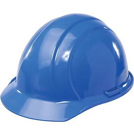 ERB™ 19766 Americana Hard Hat, 4-Point Pinlock Suspension, Blue