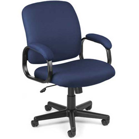 OFM Office Chair - Fabric - Low Back - Blue