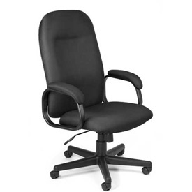 OFM Office Chair - Fabric - High Back - Black