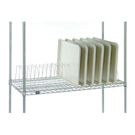 "Tray Drying Rack 16""L x 24""D x 8-1/2""H Poly-Z-Brite"