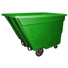 Bayhead Products Green Medium Duty 2.2 Cubic Yard Tilt Truck 2200 Lb. Capacity