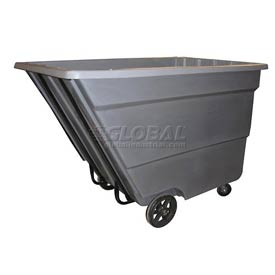 Bayhead Products Gray Medium Duty 2.2 Cubic Yard Tilt Truck 2200 Lb. Capacity