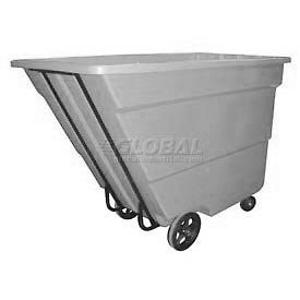 Bayhead Products Gray Medium Duty 1.7 Cubic Yard Tilt Truck 1700 Lb. Capacity