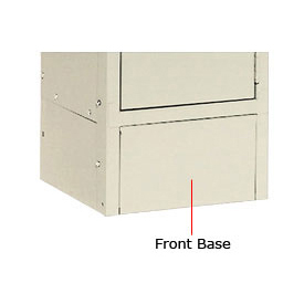 "Tennsco Steel Locker Front Base FB12 214 For Lockers With 6""H Legs Sand"