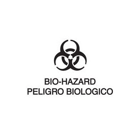Bilingual Label-Bio-Hazard / Peligro Biologico