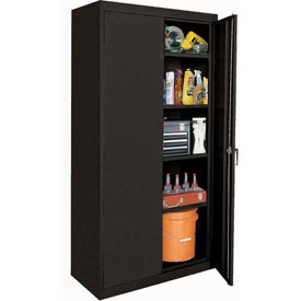 Sandusky Elite Series Storage Cabinet EA42361878 - 36x18x78, Black