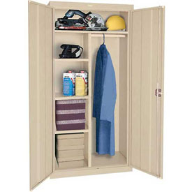 Sandusky Elite Series Combination Storage Cabinet EAC2361878 - 36x18x78, Sand
