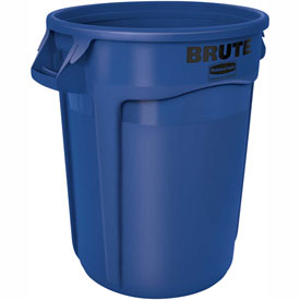 Rubbermaid Brute® 2620 Trash Container 20 Gallon - Blue