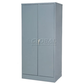 Steel Storage Cabinet 36x24x72 Gray