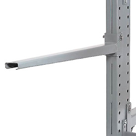 "Cantilever Rack Straight Arm No Lip, 48"" L, 2000 Lbs Capacity"