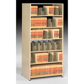 Imperial Shelving Starter 36x24x76 - 6 Openings Sand