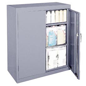 Sandusky Classic Series Counter Height Storage Cabinet CA21361842-05 - 36x18x42 Gray