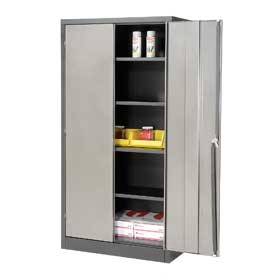 "4 Shelf Storage Cabinet 36""W x 18""D x 72""H"