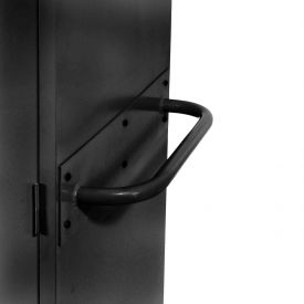 Sandusky Cabinet Push Handle TSH, Black