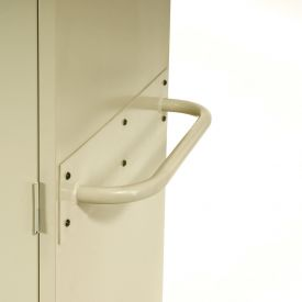 Sandusky Cabinet Push Handle TSH, Sand