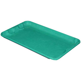 "Molded Fiberglass Toteline Nest and Stack Lid 780218 -17-7/8"" x10""- 5/8"", Pkg Qty 10, Green - Pkg Qty 10"