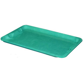 "Molded Fiberglass Toteline Nest and Stack Lid 780418 - 20-1/2"" x 12-7/8"", Pkg Qty 10, Green - Pkg Qty 10"
