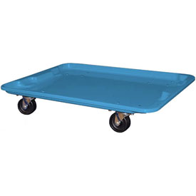 """Molded Fiberglass Toteline Dolly 780738 for 27-1/2 """" x 20"""" x 14-1/8"""" Tote, Blue"""