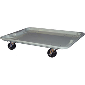 "Molded Fiberglass Toteline Dolly 780738 for 27-1/2 "" x 20"" x 14-1/8"" Tote, Gray"