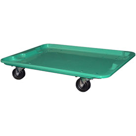 "Molded Fiberglass Toteline Dolly 780738 for 27-1/2 "" x 20"" x 14-1/8"" Tote, Green"