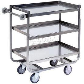 Jamco Stainless Steel Shelf Truck XN136 36x18 3 Shelves
