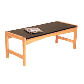 "Wooden Mallet Coffee Table -48-1/2"" - Light Oak"