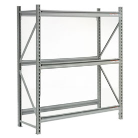 "Extra High Capacity Bulk Rack Without Decking 60""W x 18""D x 72""H Starter"