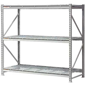 """Extra High Capacity Bulk Rack With Wire Decking 96""""W x 18""""D x 72""""H Starter"""