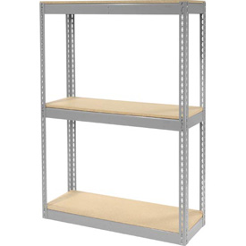 """Record Storage Rack Without Boxes 42""""W x 15'D x 60'H"""
