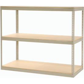 """Record Storage Rack Without Boxes 72""""W x 30""""D x 60""""H"""