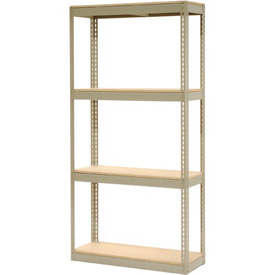 """Record Storage Rack Without Boxes 42""""W x 15""""D x 84""""H"""