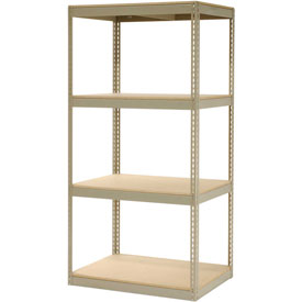 "Record Storage Rack Without Boxes 42""W x 30""D x 84""H"