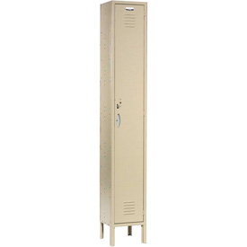 Capital™ Locker Single Tier 12x18x72 1 Door Ready To Assemble Tan