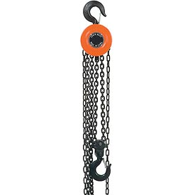Best Value Manual Chain Hoist 20 Foot Lift 2,000 Pound Capacity