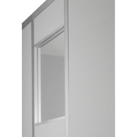 Window For 2 Ft Panel 1/4 Inch Clear Tempered Safety Glass