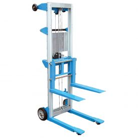 Vestil Lightweight Hand Operated Lift Truck A-LIFT-R 500 Lb. Fixed Legs