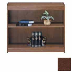 "Unassembled 30""H Contemporary Square Edge Bookcase Medium Oak"