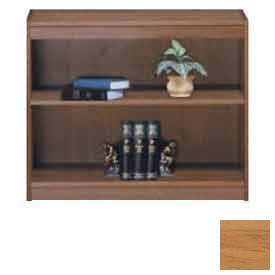 "Unassembled 36""H Contemporary Square Edge Bookcase Light Oak"
