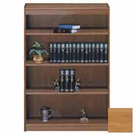 "Unassembled 60""H Contemporary Square Edge Bookcase Light Oak"