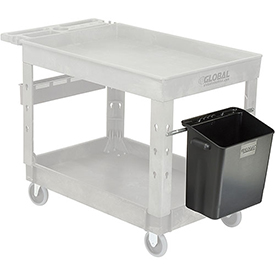 Waste Container with Mount Bar 14 x 10 x 19