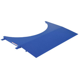 "Vestil Approach Ramp, SWA-R-4836, Goes With SWA-48, 48"" W x 36"" L x 2"" H"