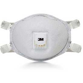 Click here to buy 3M 8514 N95 Particulate Respirator, 10/Box.