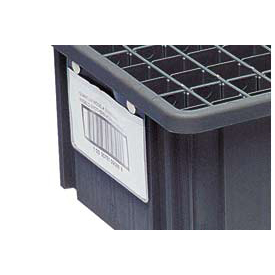 Quantum Conductive Dividable Grid Container Label Holder LBL2X8CO - 8x2 Sold Pack Of 6