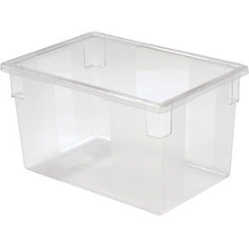 rubbermaid clear plastic box 21 12 gallon 18 x 26 x