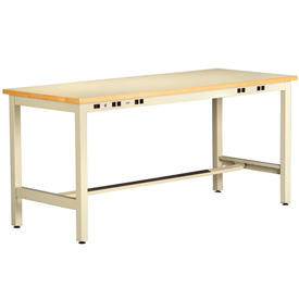 ESD Electronic Workbench 34inch High 96x30 Sand