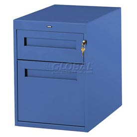 Utility Drawer & File Drawer For 30 Inch Wide Tech Bench Blue