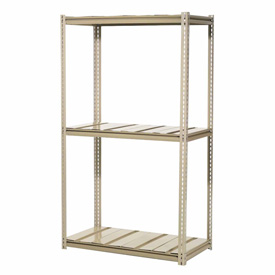 "High Capacity Add-On Rack 72""W x 36""D x 84""H With 3 Levels Steel Deck 1000lb Cap Per Level"