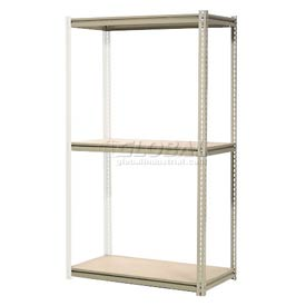 "High Capacity Add-On Rack 72""W x 36""D x 84""H With 3 Levels Wood Deck 1000 Lb Cap Per Level"