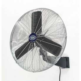 Oscillating Wall Mount Fan 30 Inch Diameter, 1/3HP, 8775CFM