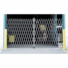 Double Folding Security Gate 10'W x 5'H
